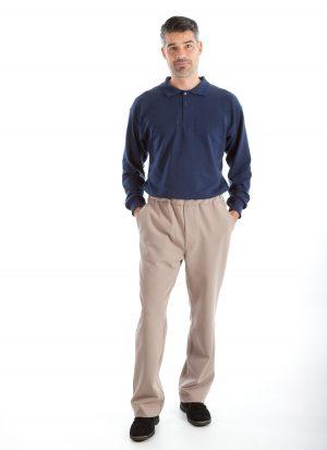 Combi hansop | ritssluiting rug (heren)