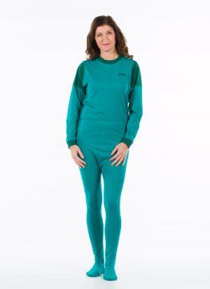 Hansop jersey (dun) | met voetjes (dames / heren)