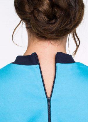 Hansop jersey (dun) | ritssluiting rug (dames / heren)