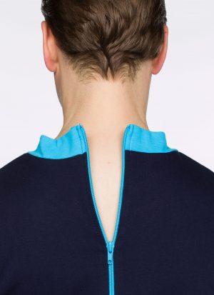 Hansop tricot (gemiddeld) | ritssluiting rug (dames / heren)