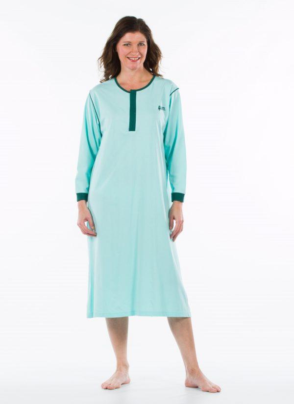 Nachthemd nachtjapon aangepaste pyjama ZorgMode 1402 500