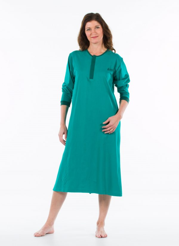 Nachthemd nachtjapon aangepaste pyjama ZorgMode 1402 501