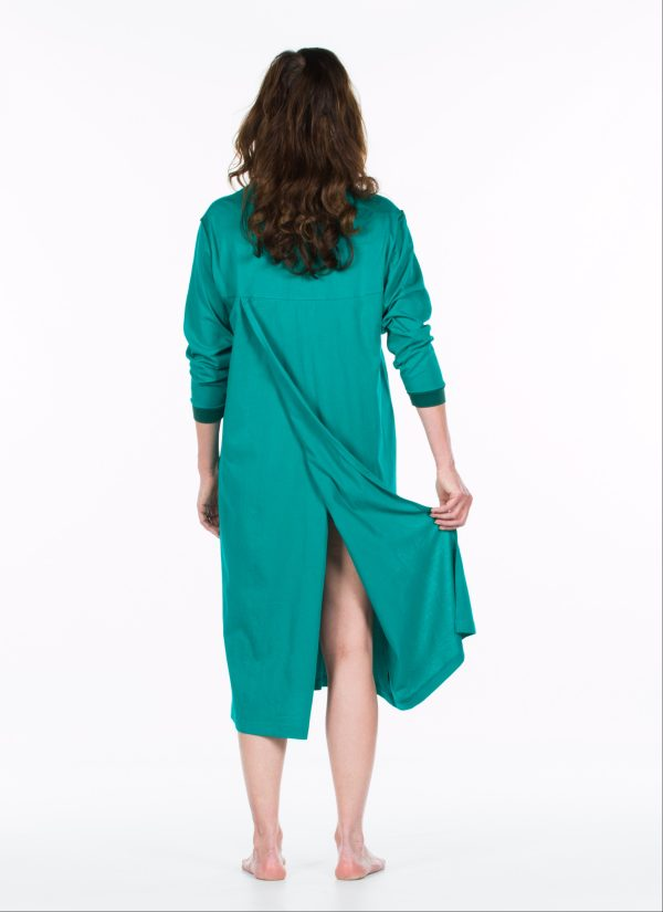 Nachthemd nachtjapon aangepaste pyjama ZorgMode 1402 501 achterkant