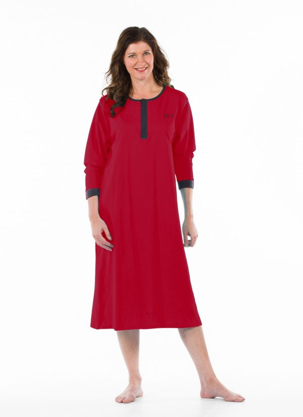 Nachthemd nachtjapon aangepaste pyjama ZorgMode 1402 681