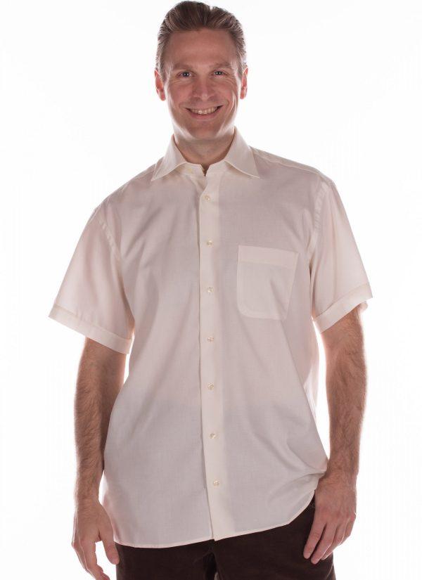 Overhemd heren korte mouw blouse 7256 voorkant