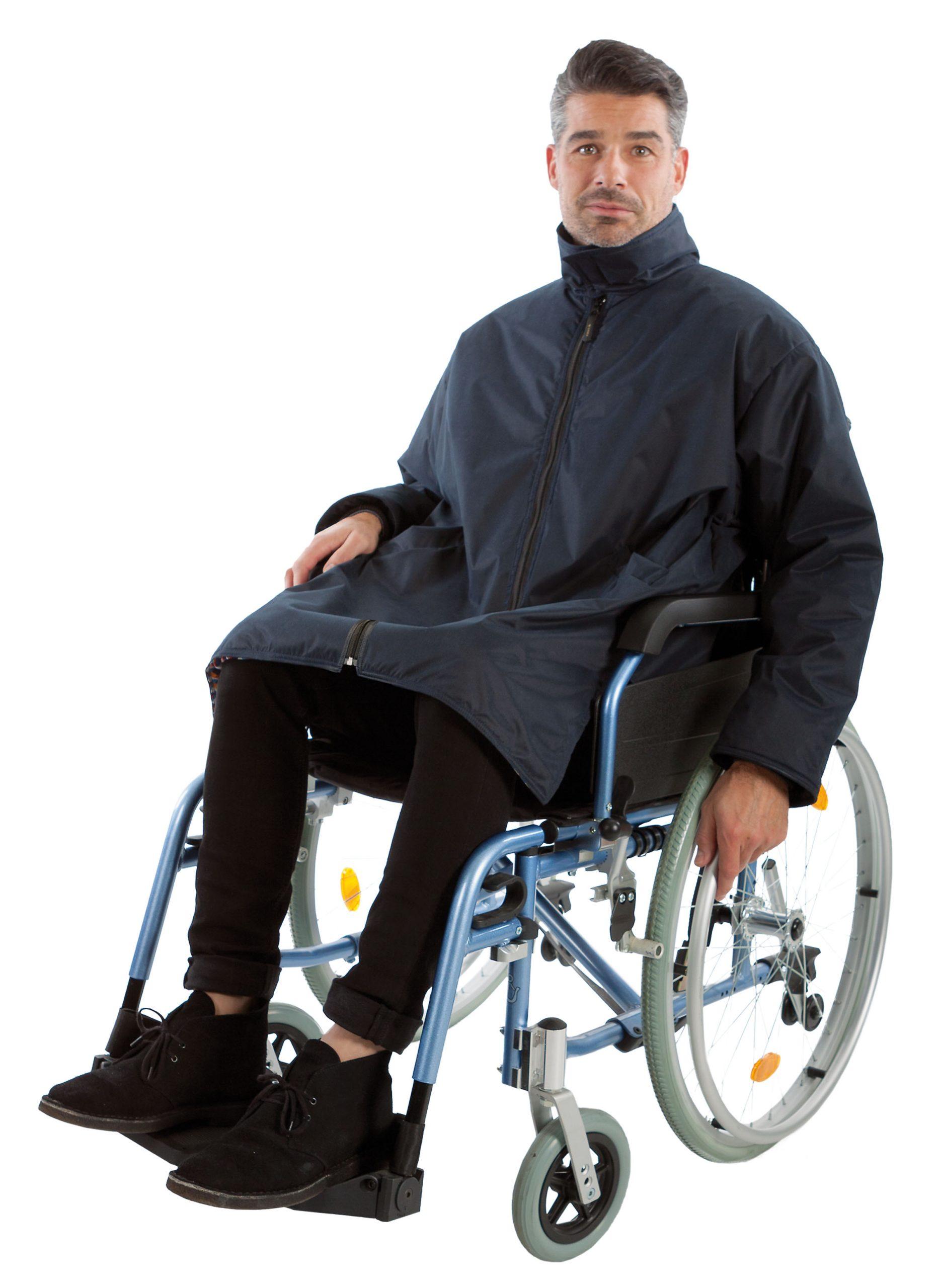 Rolstoeljas winter rolstoelkleding ZorgMode 7329 281