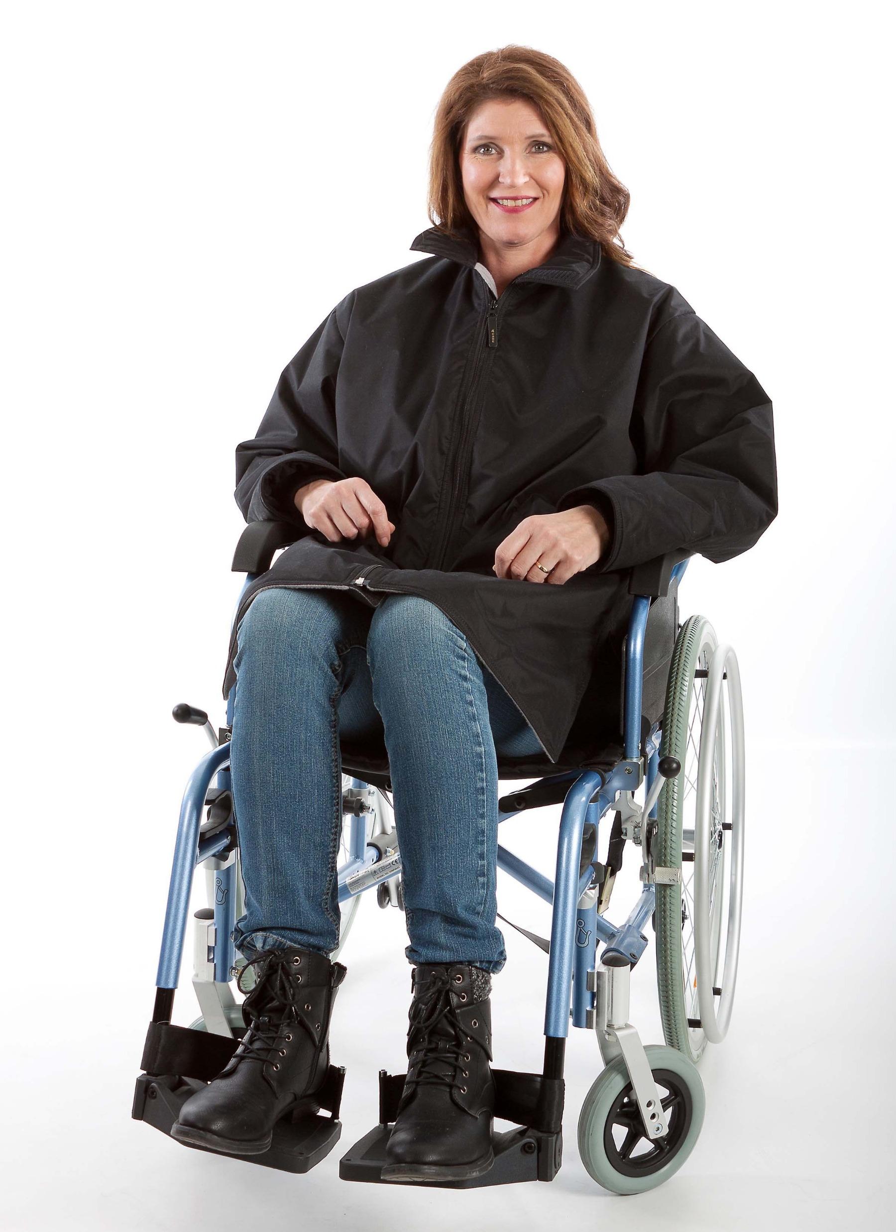 Rolstoeljas winter rolstoelkleding ZorgMode 7329 450