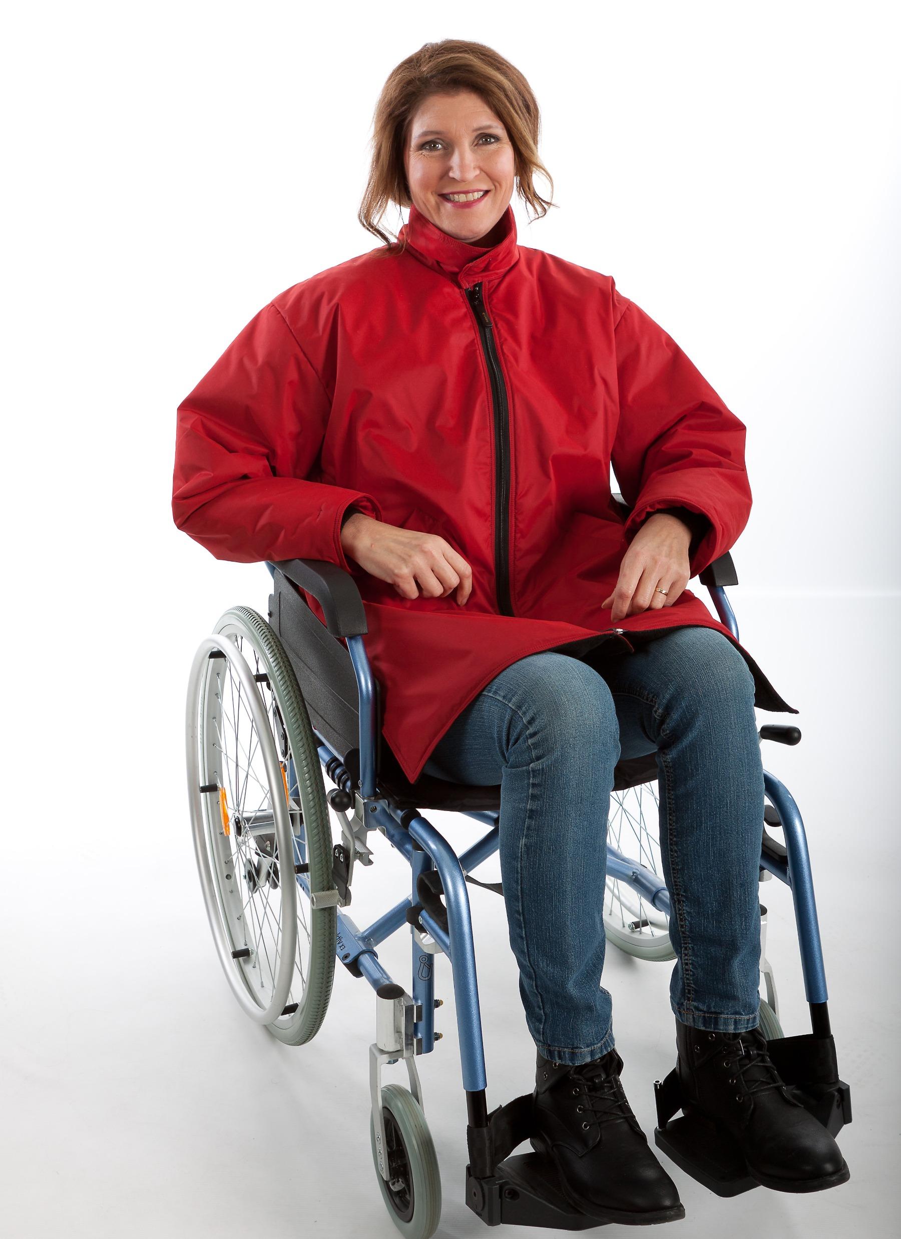 Rolstoeljas winter rolstoelkleding ZorgMode 7329 681