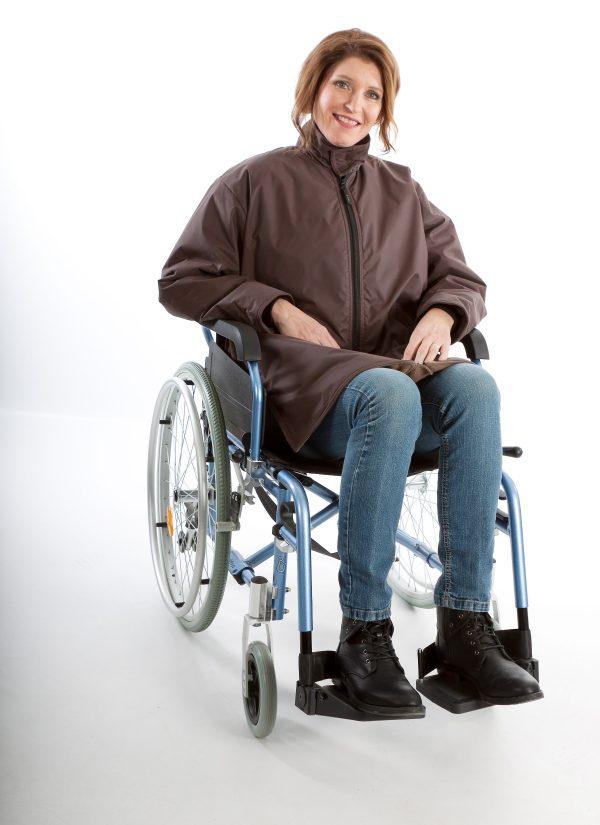 Rolstoeljas winter rolstoelkleding ZorgMode 7329 800