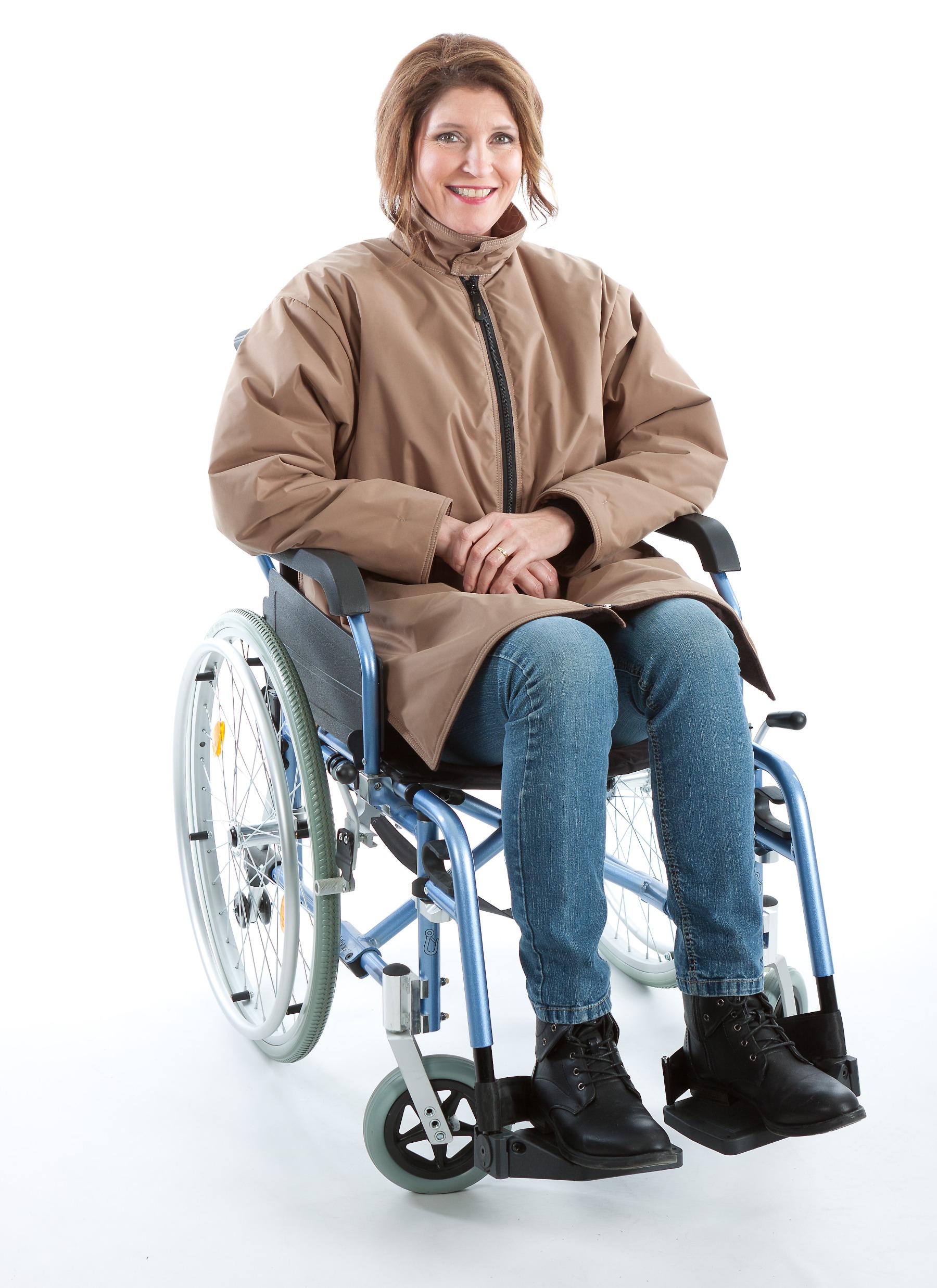 Rolstoeljas winter rolstoelkleding ZorgMode 7329 938