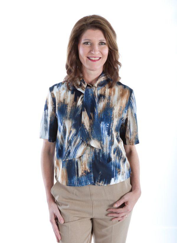 Aangepaste blouse dames 7249 1