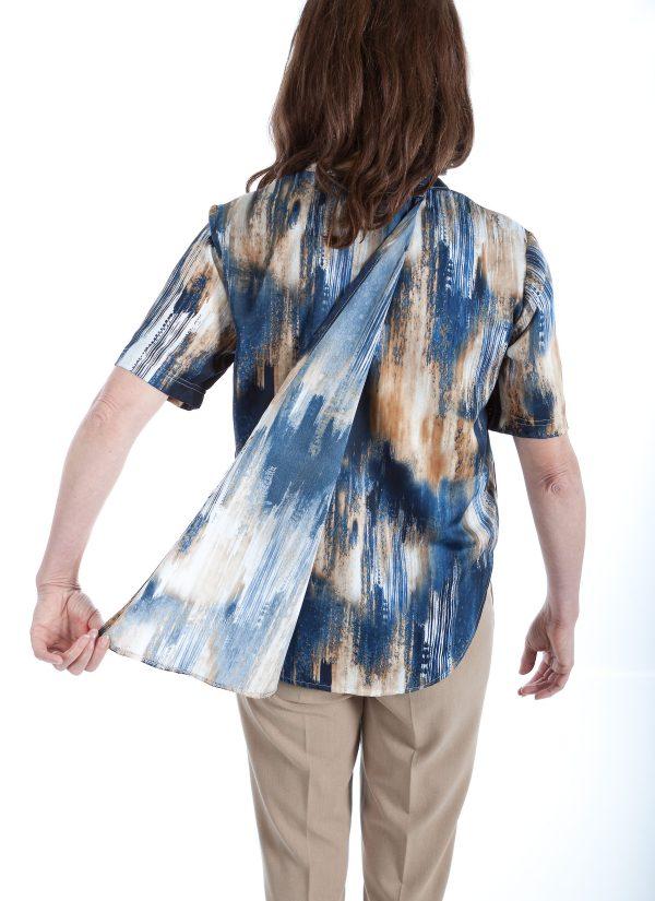 Aangepaste blouse dames 7249 2