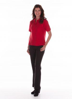 Dames pantalon met elastische band | zonder zitsnit