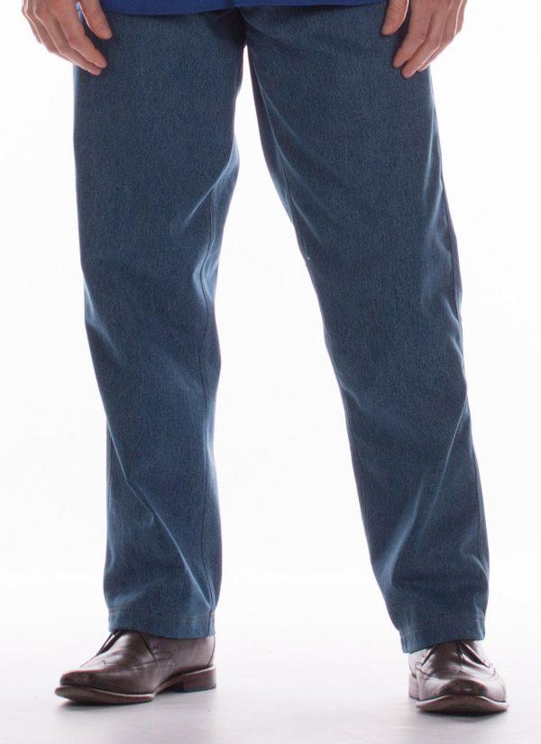 Heren broek met elastische band - pantalon - ZorgMode 7173.3