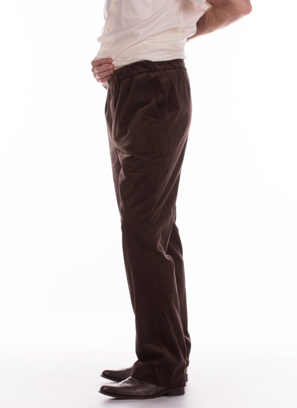 Heren broeken met elastiek voor ouderen - Zorg Mode 7170.2