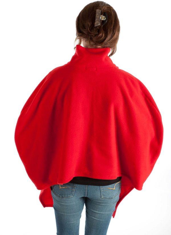 Poncho cape zonder mouwen - Zorgmode 7387.1