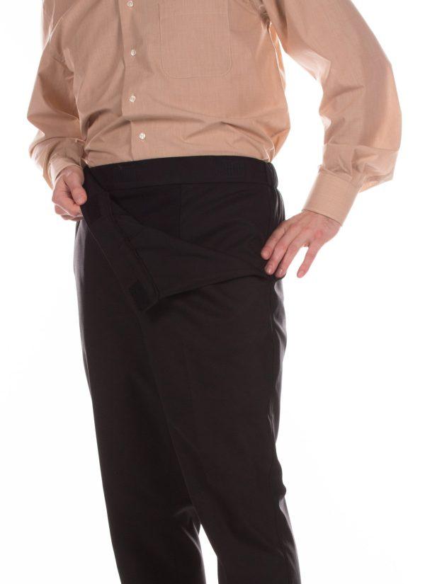 Senioren pantalon met elastiek - ZorgMode 7172.2