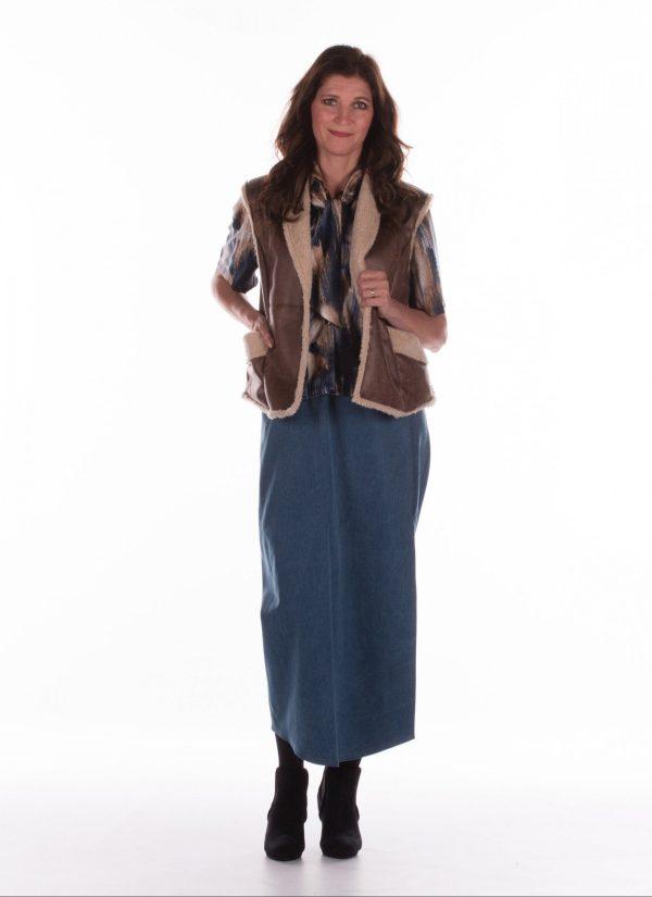 Wikkelrok dames - PDL kleding zorgmode - 7245