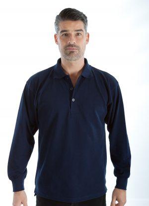 Heren polo | met drukknoopsluiting | korte of lange mouw